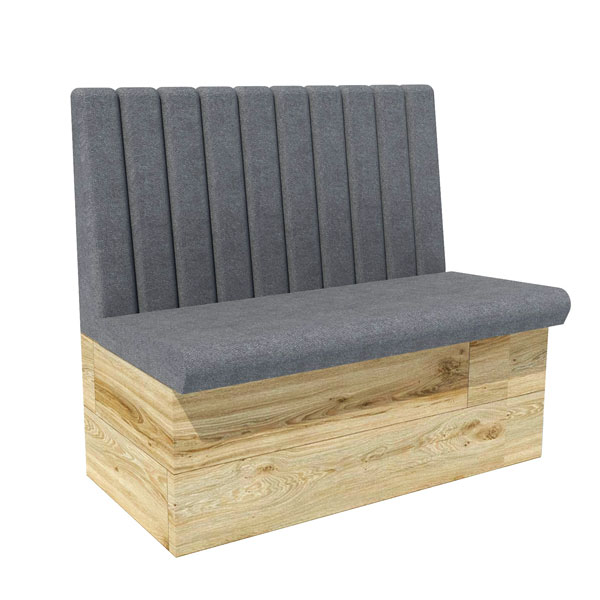 Vertical Low Back Bench Seating Contract Furniture Manufacturers