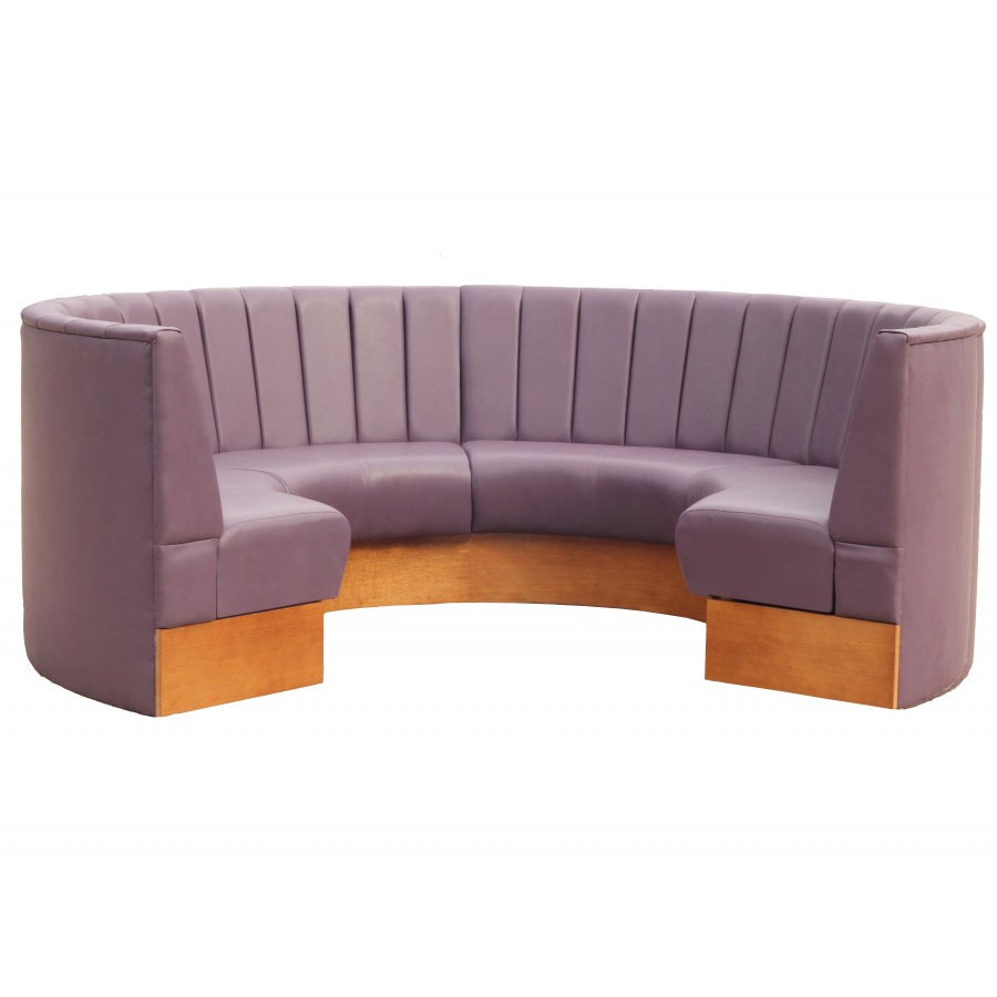 Curved bench seating uk maufactured made to measure Curved bench seating